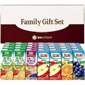 DOLE・農協 果汁 野菜ジュースセット(2段詰) 【冬ギフト・お歳暮】 [DNY-35]