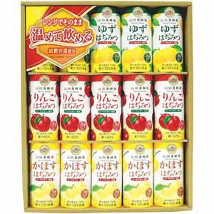 山田養蜂場 ハニードリンク3種詰合せ(ゆず、りんご、かぼす) 【冬ギフト・お歳暮】 [HD-YAK]