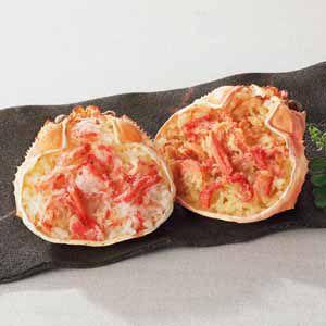 札幌バルナバフーズ 紅ずわい蟹甲羅盛めし詰合せ 【冬ギフト・お歳暮】