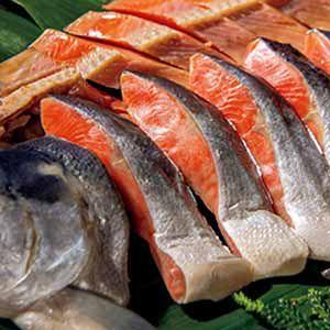 北海道ぎょれん 熟成塩紅鮭 三段仕込み製法(甘塩味) 【冬ギフト・お歳暮】