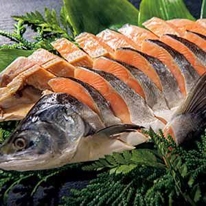 北海道ぎょれん 熟成塩時鮭 三段仕込み製法(甘塩味) 【冬ギフト・お歳暮】