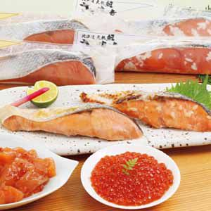 佐藤水産 鮭いくら親子丼3種 5食入 【冬ギフト・お歳暮】 [FA-810WN]