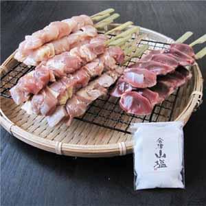 福島県産 会津地鶏やきとりセット 18本 【おいしいお取り寄せ】