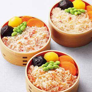 札幌バルナバフーズ 三種かに飯詰合せ 【冬ギフト・お歳暮】
