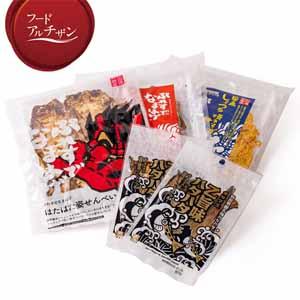 男鹿なび ぷれすでなまはげ3種・乙旨味ハタハタセット 5袋【フードアルチザン】