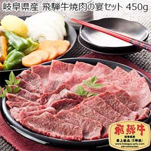 岐阜県産 飛騨牛焼肉の宴セット 450g【おいしいお取り寄せ】