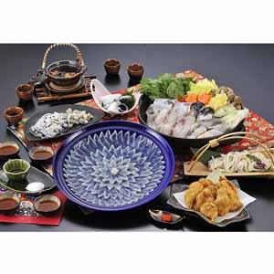 国産 ふく料理にぎわいフルコース(4人前) 【年末ごちそう】