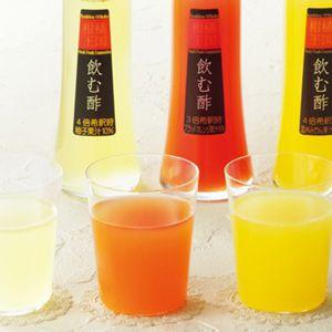 柑橘王国 飲む酢3本セット 【冬ギフト・お歳暮】 [N-30]