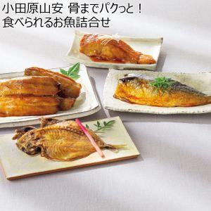 小田原山安 骨までパクッと!食べられるお魚詰合せ 【冬ギフト・お歳暮】