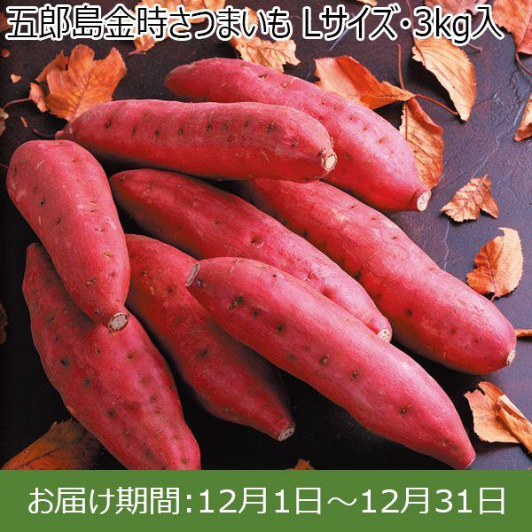 石川県産 五郎島金時さつまいも Lサイズ・3kg入【ふるさとの味・北陸信越】