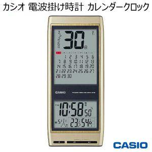 カシオ 電波掛け時計 カレンダークロック IDC-700J-9JF (R3879)