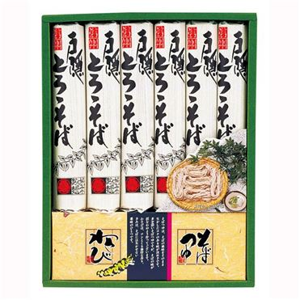 信州戸隠とろろそば(200g×6袋)【年間ギフト】 V0231-05