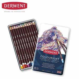 ダーウェント 油性色鉛筆12色セット  【年間ギフト】[G9253-01]