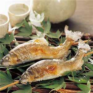 国内産鮎の塩焼き 10串×1箱 (L5637) 【サクワ】