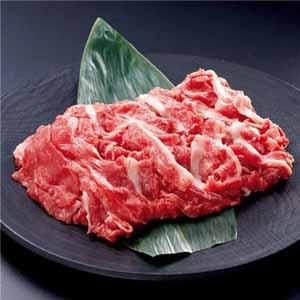 【北海の黒】北海道産牛 切落し 200グラム×4袋 (L5663) 【サクワ】