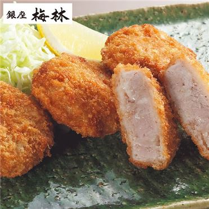 【銀座梅林】ひと口ヒレカツ 8枚入×3セット (L5908) 【サクワ】