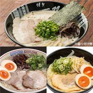 【博多とんこつラーメン】食べ比べ 10食(だるま・秀ちゃん・一双) (L5840) 【サクワ】【直送】