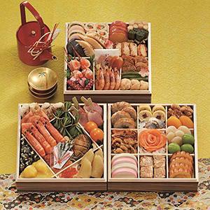 博多 日本料理 てら岡「宝楽」【約4人前・47品目】【イオンのおせち】