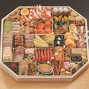 ふく吉 和洋中お料理 「慶びの宴」【約6〜7人前・53品目】【イオンのおせち】