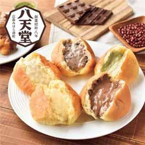 八天堂 プレミアムフローズンくりーむパン&くりーむクロワッサン12個入【贈りもの】