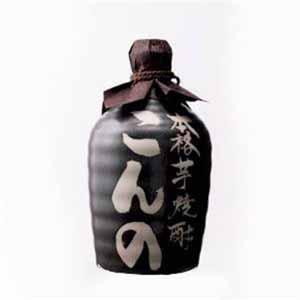 西吉田酒造 こんの芋焼酎25度陶器 【贈りもの】