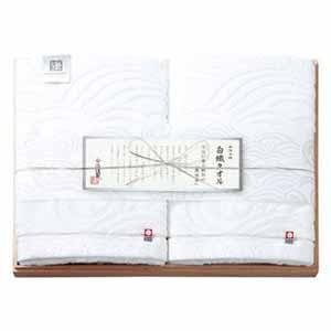 今治謹製白織タオル(木箱入り)【贈りものカタログ】