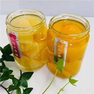 たかはた果樹園 白桃と黄金桃のコンポート [TCP-2]【お届け期間:6/11〜10/10】 【おいしいお取り寄せ】