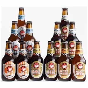 木内酒造 常陸野ネストビール5種12本セット [DHNB-48] 【イオンカード会員限定】
